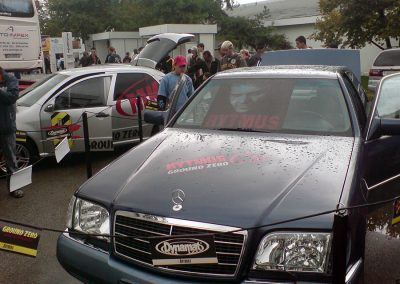 Autodax na výstavách - Rytmus car