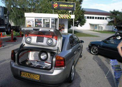 Autodax na výstavách