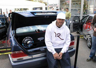 Autodax na výstavách - Nitra 2007 Rytmus car
