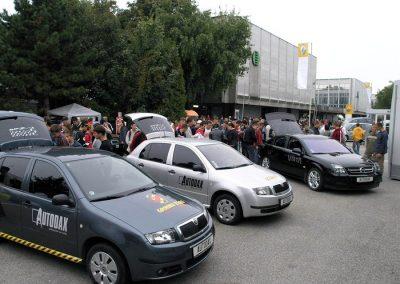 Autodax na výstavách - autoshow slovakia